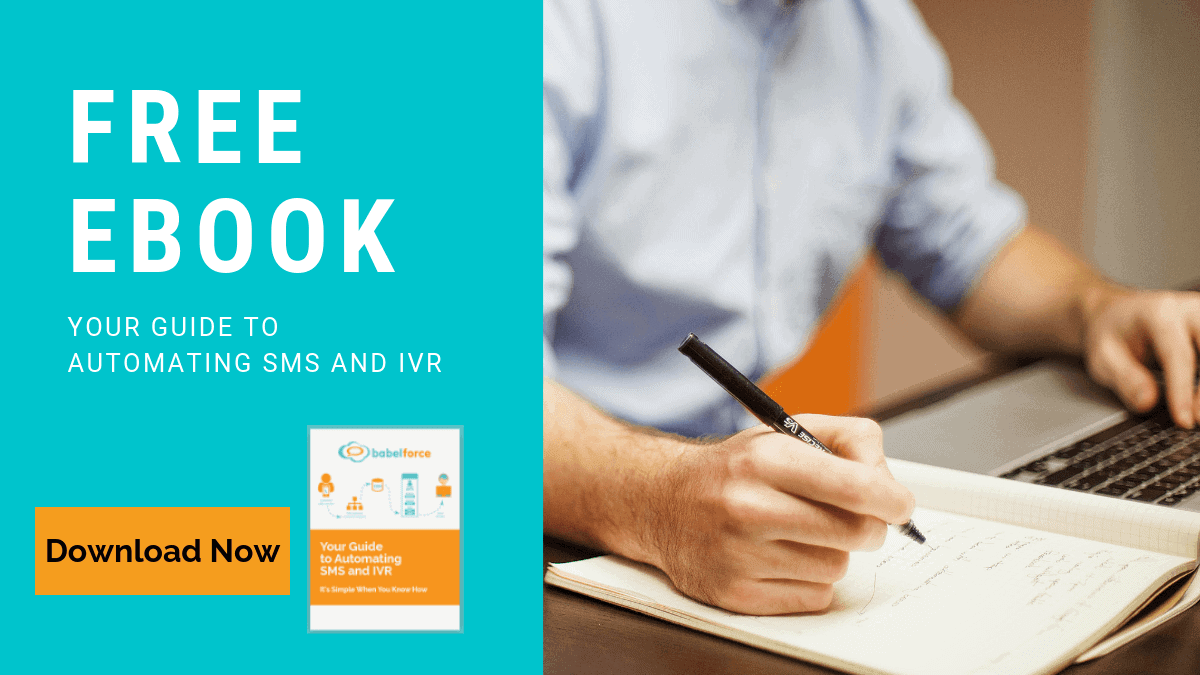 Download your free ebook - your guide to automate SMS and IVR