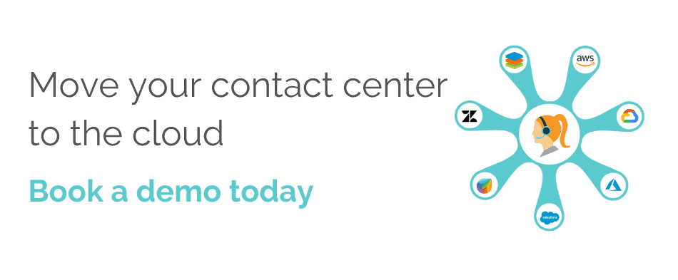Move your contact center to the cloud - white