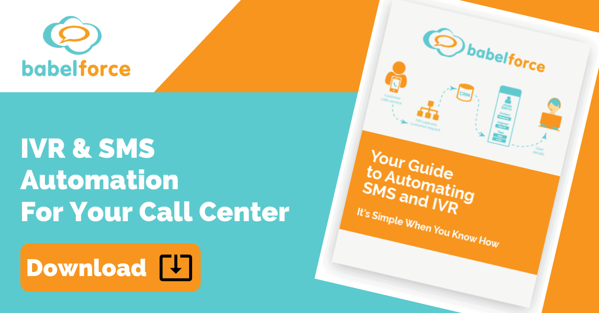 Get Your Copy - How to Automate IVR and SMS