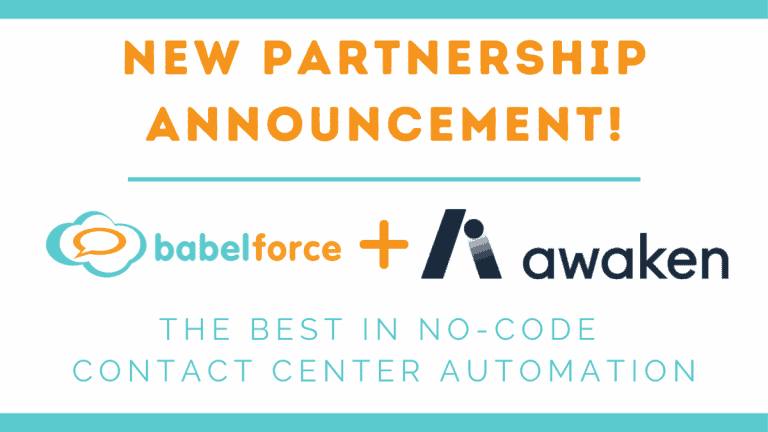New partnership announcement with Awaken